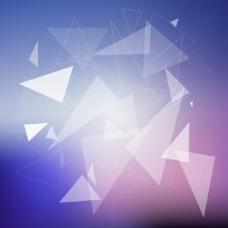 具有三角形设计的抽象背景