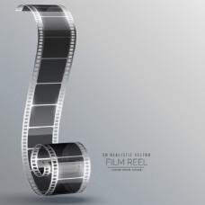 三维电影带