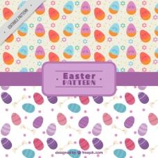 复活节彩蛋的装饰图案