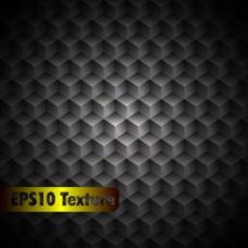 抽象立方体金属纹理背景