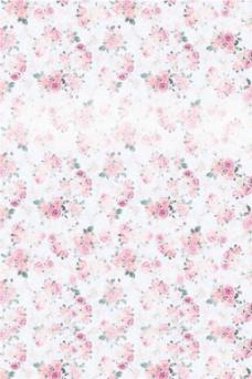 粉色花朵H5背景