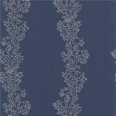 蓝色花纹图案壁纸