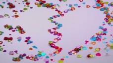 情人节边框花纹视频素材