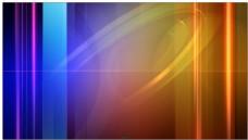 蓝色竖线组成的电视背景视频素材