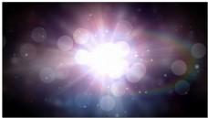 漂亮光晕光斑背景视频素材