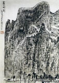 李可染作品 国画 人物 中国画