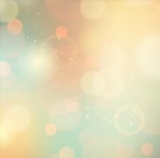彩色唯美渐变虚化光圈背景