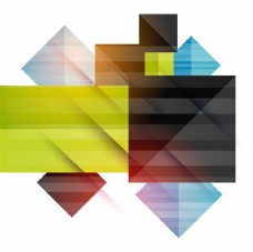 具有彩色条纹几何图形的抽象抽象背景。