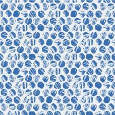 蓝色图案设计