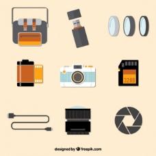 摄像设备平面采集