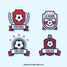 足球联盟徽章