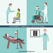 不同的医疗状况