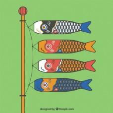 日本锦鲤的风向袋