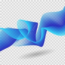 蓝色的流动形态