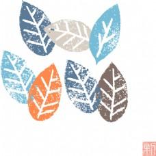 树叶卡通设计素材合集