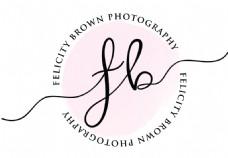粉色店铺微店logo水印矢量素材