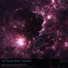科技烟花星空背景图