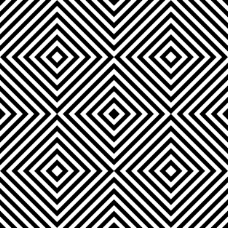 黑白线的几何背景