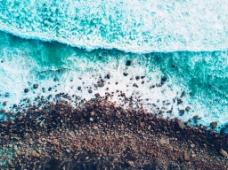 夏日海滩背景图片素材