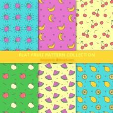 六种水果图案在平面设计中的分类
