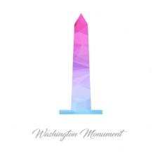 多边形华盛顿纪念碑