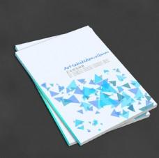 画册书籍封面图片 蓝色