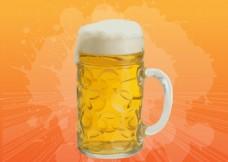 一杯啤酒 啤酒杯