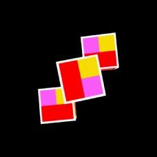 彩色方块视频背景