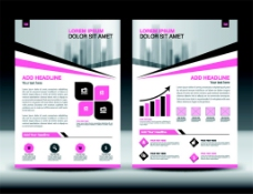 紫色几何画册图片1