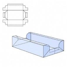 蓝色长方形纸盒图片