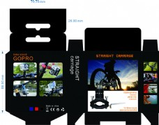 gopro自行车支架包装设计