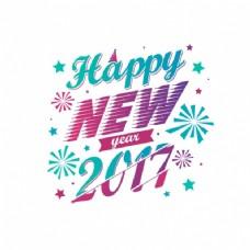 平面设计的新年背景