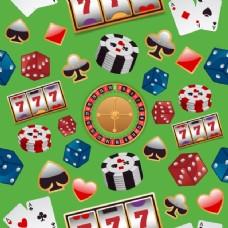 背景与赌场元素