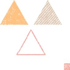三角形底纹设计素材合集