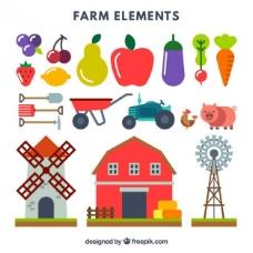 农产品和水果的采集