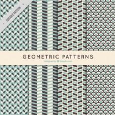 老式风格的几何图案