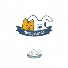 创意猫狗商标