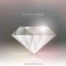 优雅的钻石背景
