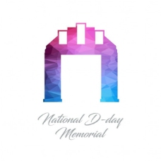 国家D日纪念馆,多边形