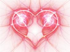 电动的心背景图