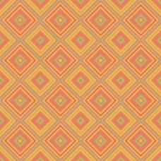 橙色背景与正方形