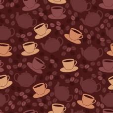 咖啡图案设计