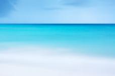 蓝色夏季海洋背景图片素材