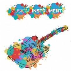 乐器背景设计图片