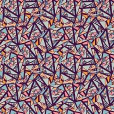 小三角形几何背景
