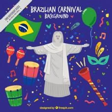 巴西狂欢节的背景