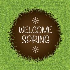 春天的背景设计