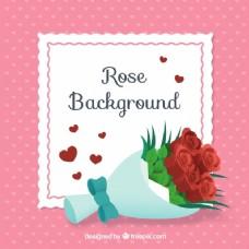 玫瑰的背景