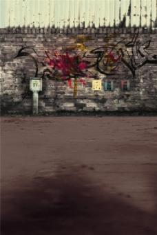 道路城墙H5背景