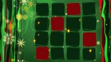 圣诞雪花元素视频背景